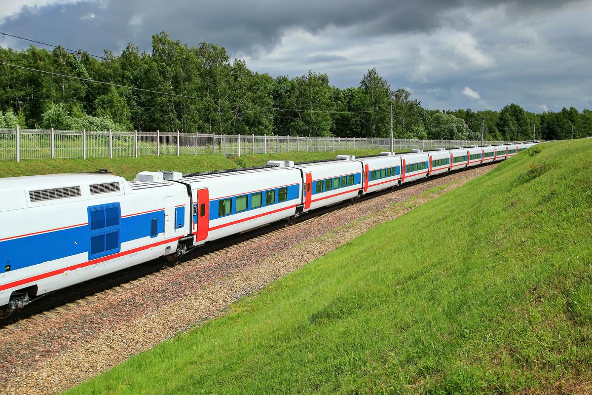 Схема вагонов поезда стриж